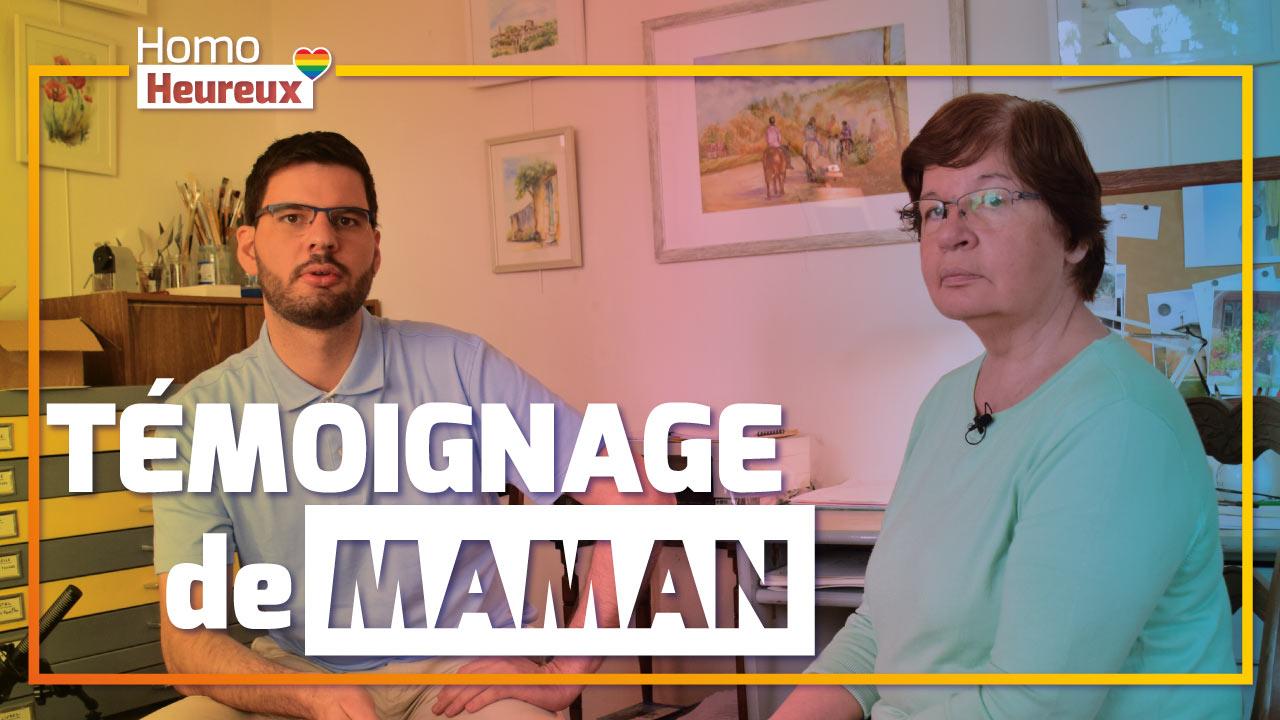 Discussion avec Maman, 2 enfants homosexuels : famille, jugements, coming out, regrets, GPA... #011