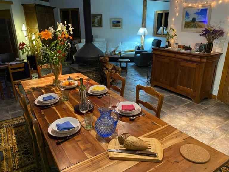 La table est mise :)