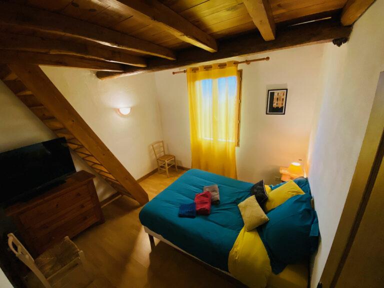 Panaïba, L'une des 3 chambres à l'étage